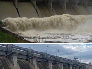 Before and afters reveal devastation of drought on dam