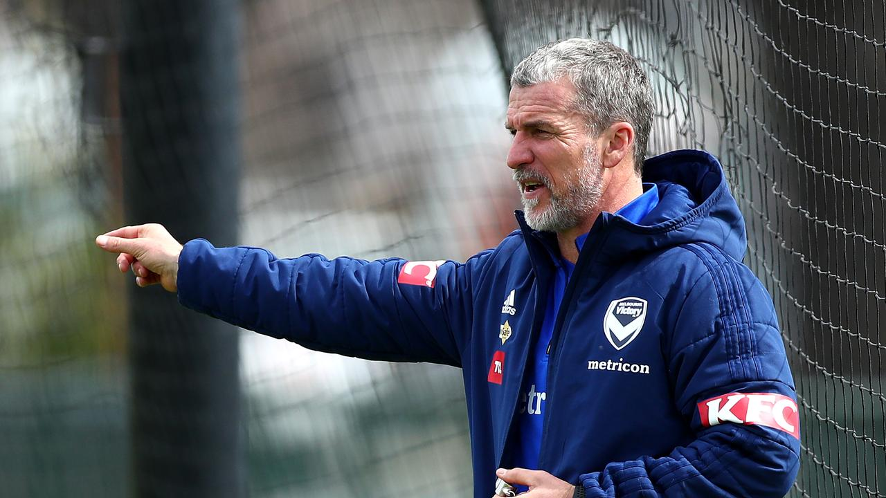 Melbourne Victory head coach Marco Kurz. Picture: Kelly Defina/Getty Images