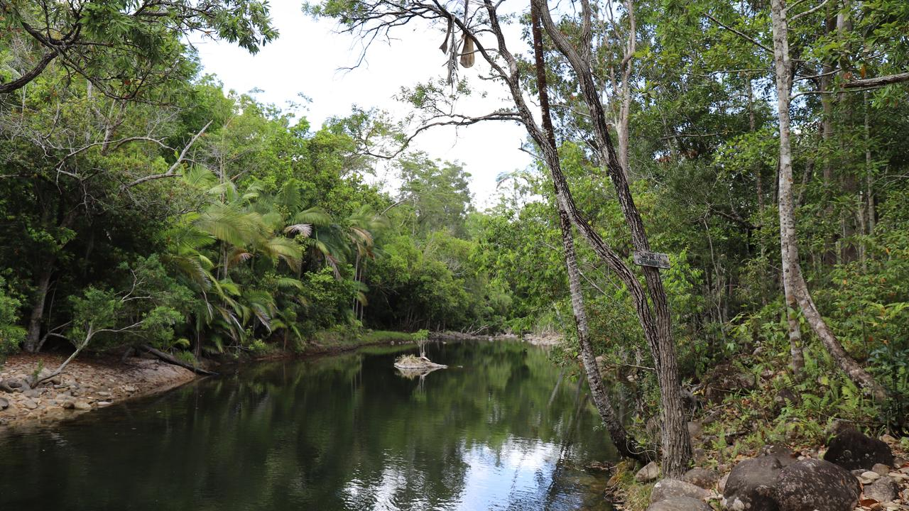 The Platypus Bushcamp at Finch Hatton Gorge is on the market.