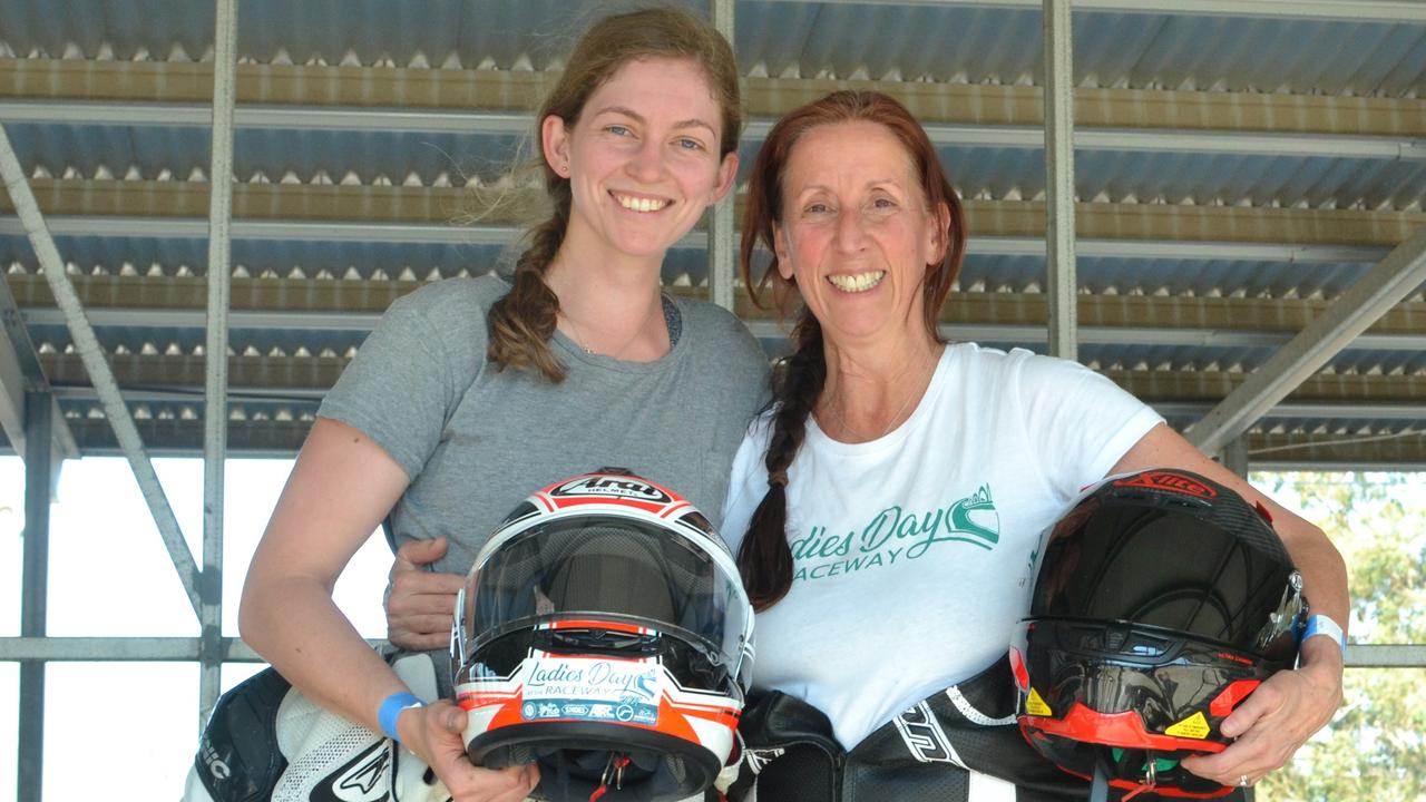 ADRENALINE JUNKIES: Andrea and Isabella Rizzalli.