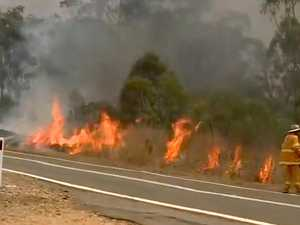 Fireys prepare for worst as Qld towns hit 40C