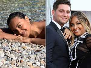 Jessica Mauboy confirms engagement with beach snaps