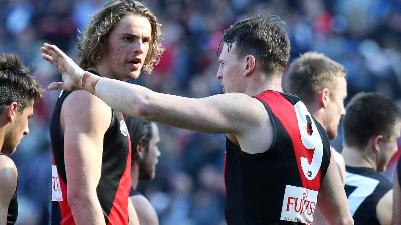 Former Essendon defender Brendon Goddard believes Daniher could have been more committed to his rehab. Picture: George Salpigtidis