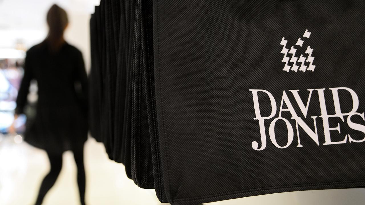 David Jones is set to close its flagship menswear department on Bourke Street Mall due to ongoing retail pressures. Picture: Carla Gottgens/Bloomberg