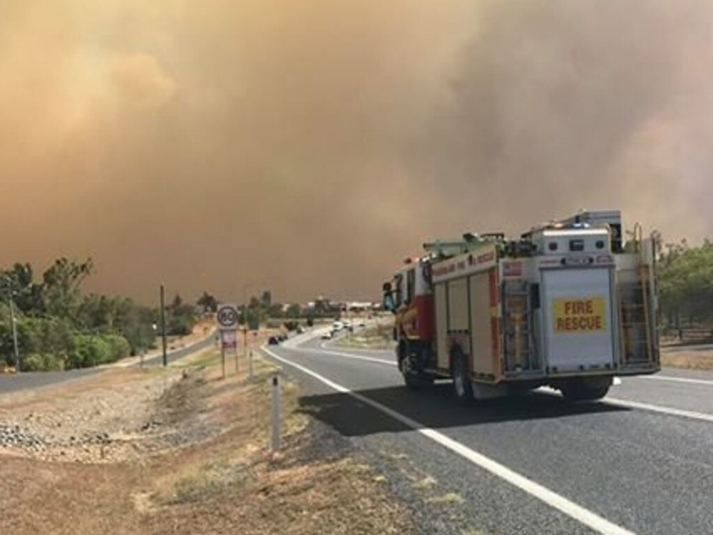 Firefighters have warned residents to be careful they don't spark more fires.