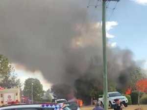 east toowoomba house fire