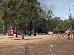 Kawana car fire