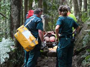 IN PHOTOS: Two rescued after 30m fall at tourist hot spot