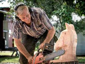 Chainsaw sculptor's sharp imagination pays dividends