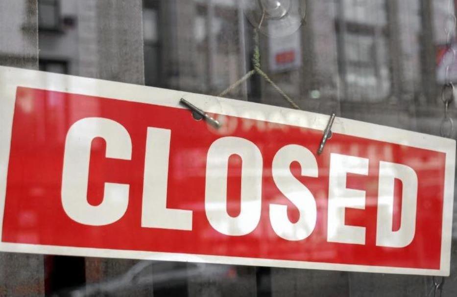 Closed sign generic