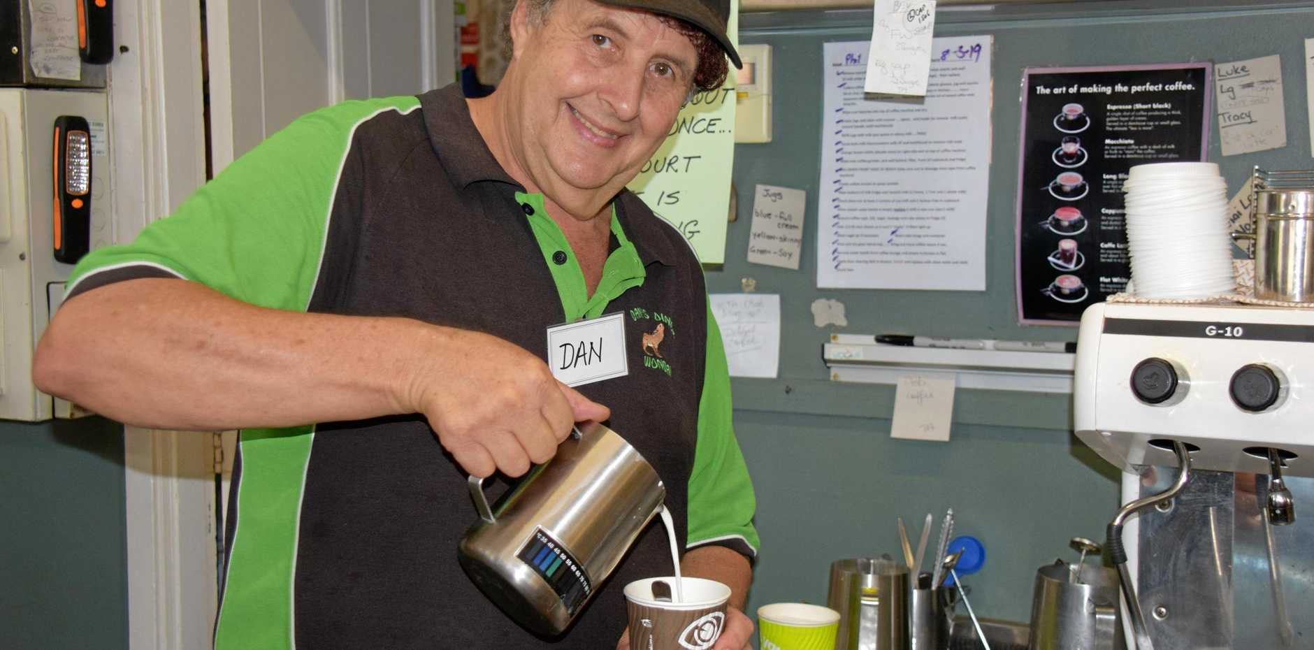 GOOD SURPRISE: When parkrun first came to Wondai, local diner owner, Dan Radunz believed it wouldn't last.