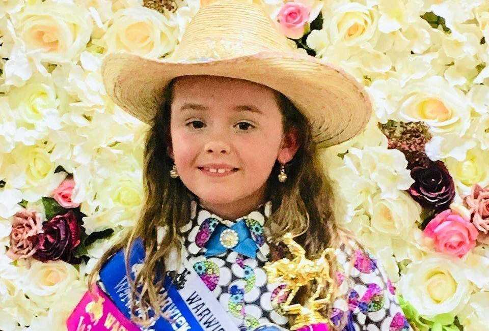 Georgia Finnigan, Junior Cowgirl entrant.
