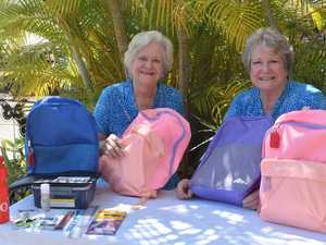 Quota ladies bringing backpacks into fashion