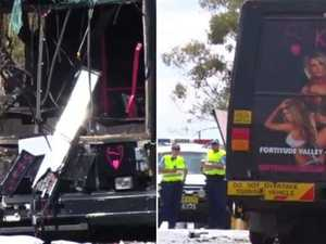 Confronting photos: Stripper bus crash horror claims a life