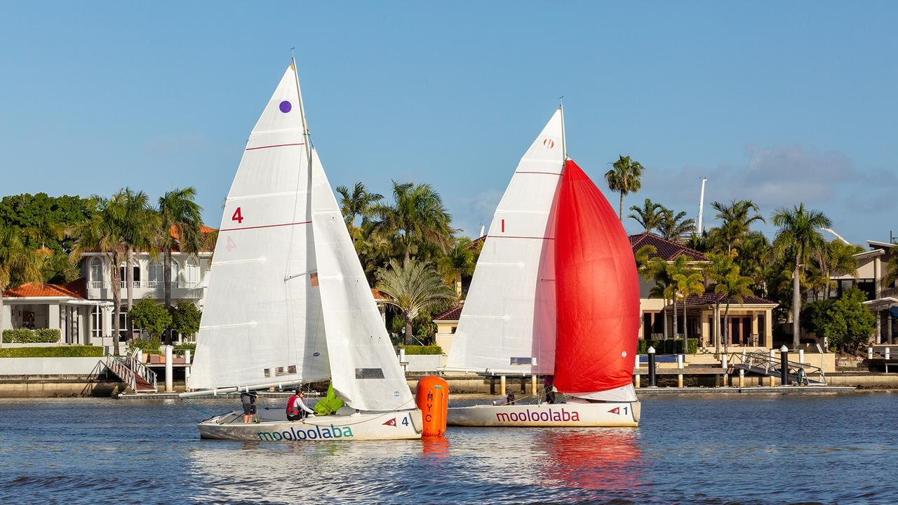 Mooloolaba Yacht Club hosts the Australian Women's Match Racing Championships from Friday to Sunday this week. Picture: Contributed