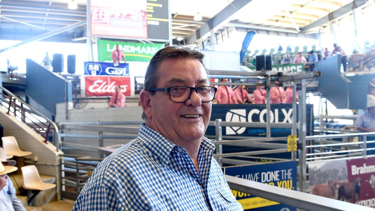 Jim Pola at CQLX's Brahman Day in Gracemere
