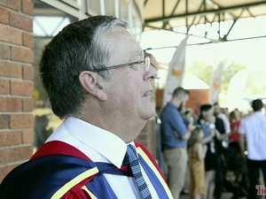 USQ honours former top cop