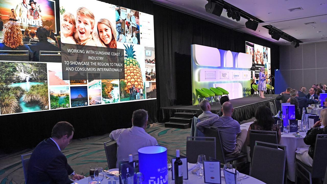Future Tourism, Sunshine Coast Convention Centre. Photo Patrick Woods / Sunshine Coast Daily.