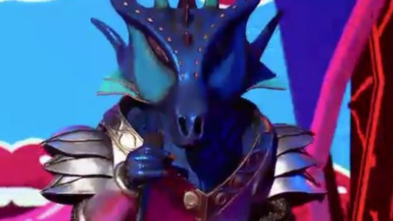 The Masked Singer ended with The Dragon unmasking on Tuesday night. Picture: Channel 10.