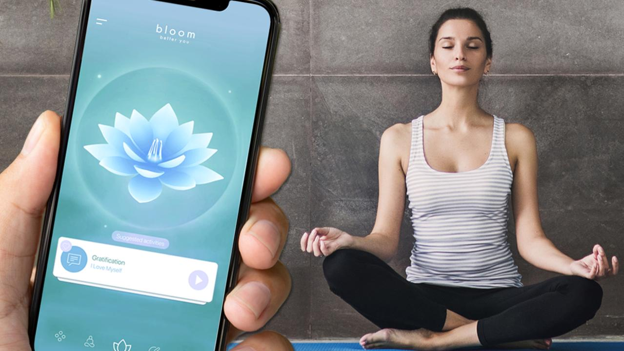 Mental health app 'Bloom', created by Chloe Szepanowski and Molly Jane, launched in August 2019.