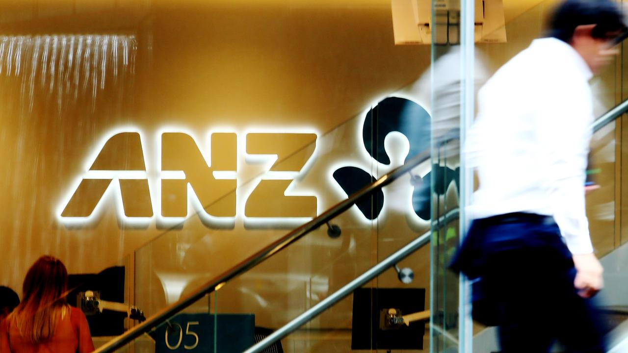 ANZ's NZ-listed shares have been placed in a trading halt. Picture: Hollie Adams/The Australian
