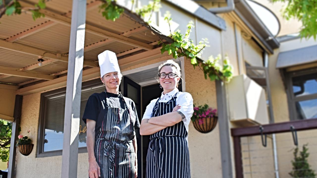 Clarissa Sibley and her mum Claudia are running the new restaurant in town, Essen.