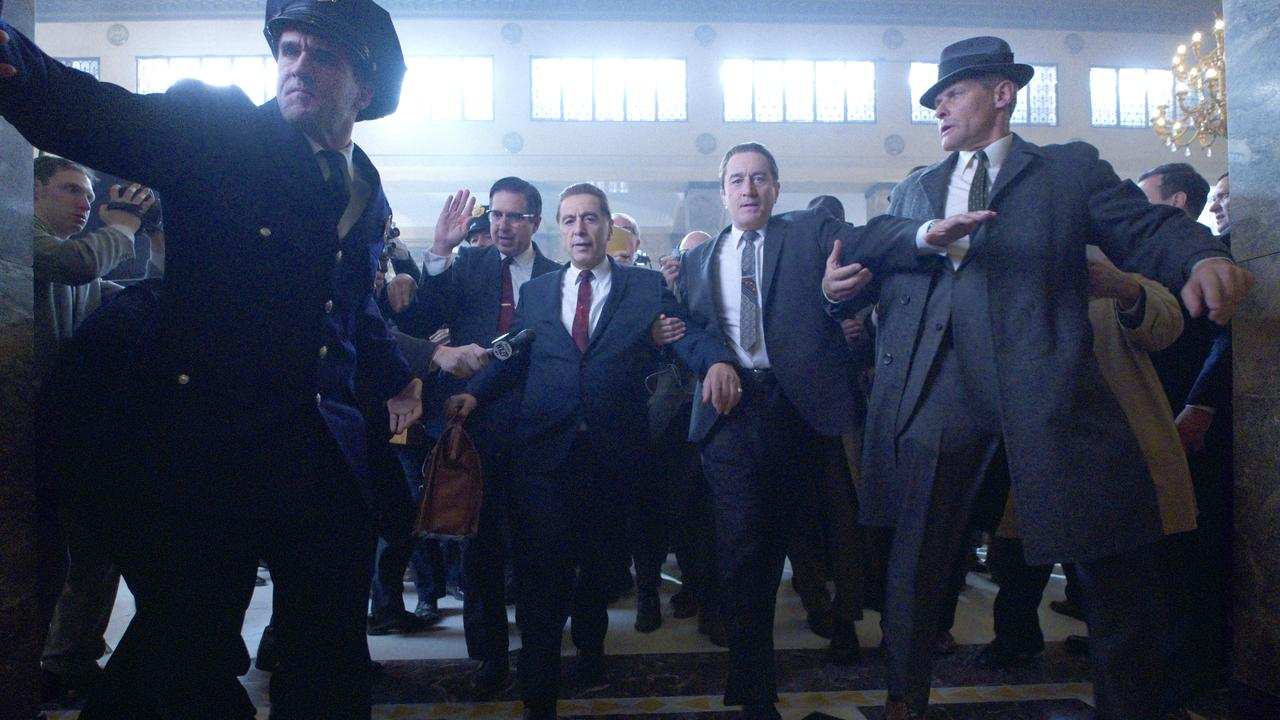 The Irishman will release into cinemas on November 7, three weeks before its streaming release