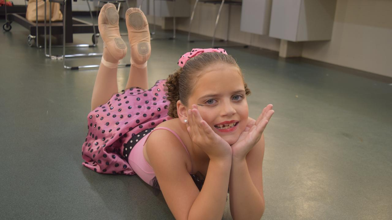 Monique Shepherd, 8, from Leisa Payne School of Dance, performed a demi-character at the Mackay Eisteddfod.