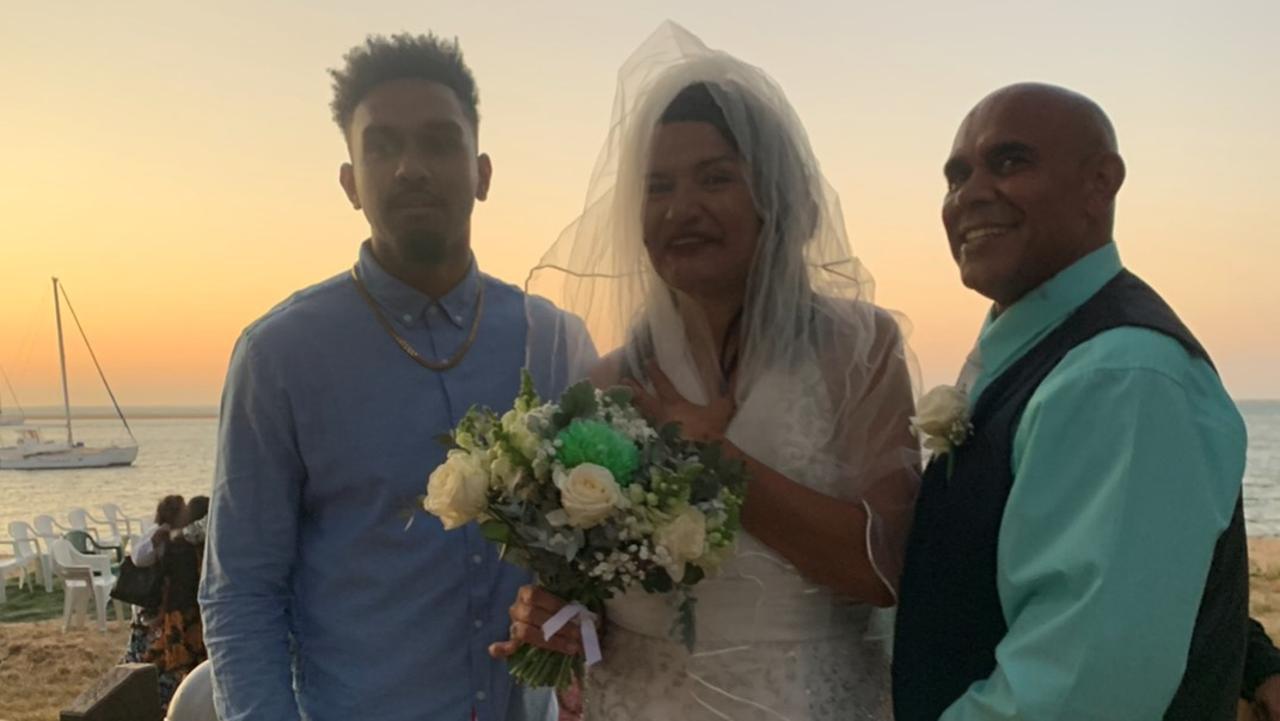 Cherissma's Son Jariya with Cherissma and Lincoln Costelloe-Blackman.