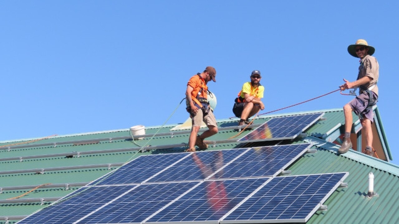 Work has begun at the first sites chosen for Coffs Harbour City Council's major solar energy push.