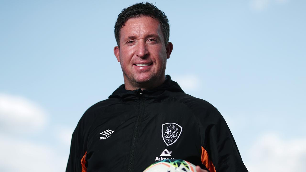 Brisbane Roar coach Robbie Fowler. Picture: Getty Images