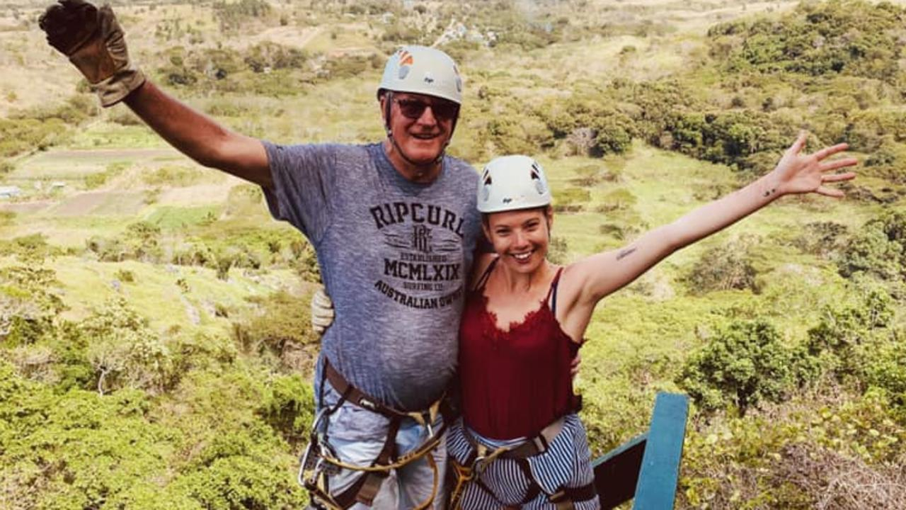 Social media posts show the pair enjoying adventures in Fiji.