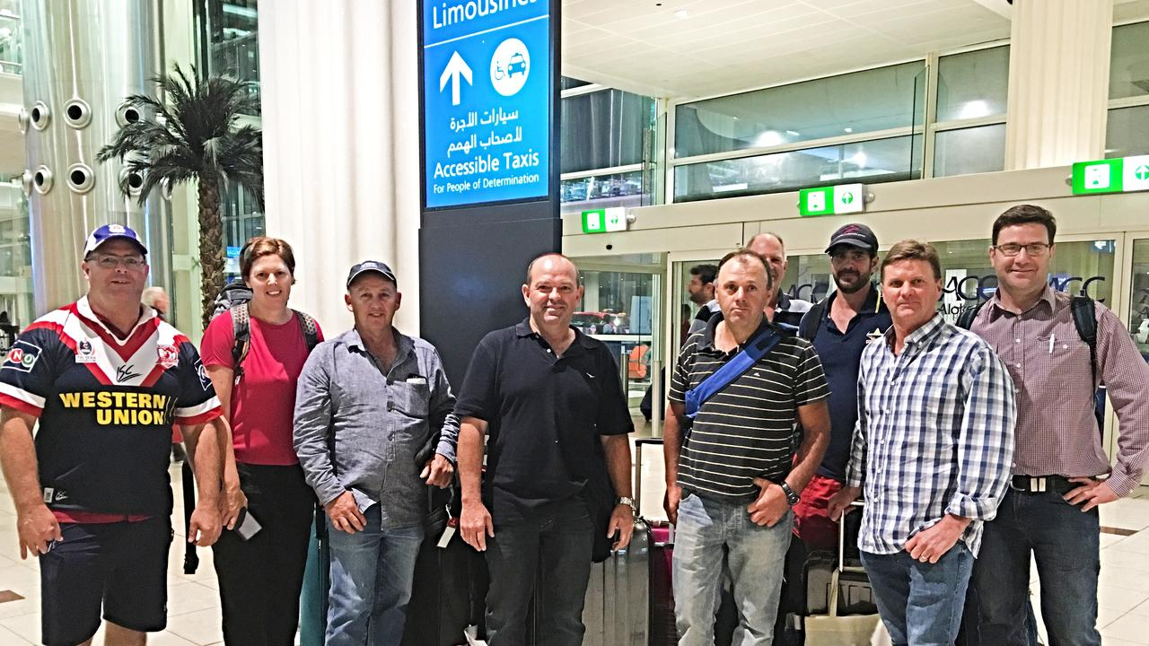 A growers contingent from the Granite Belt landed in Dubai over the weekend to examine how they produce in dry, desert conditions.