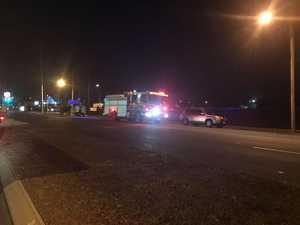 Man crashes near Salter Oval, leaves the scene