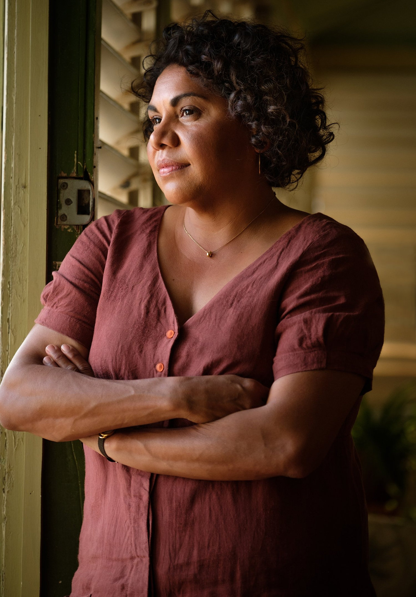 Deborah Mailman in a scene from Total Control.