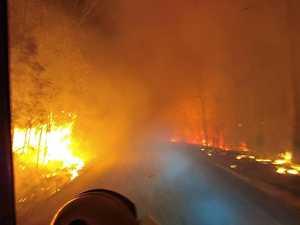 Blaze so bad fireys had 'never experienced' anything like it