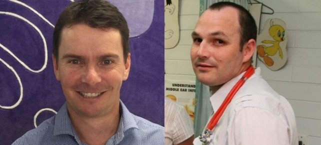 MACKAY'S BEST GP: Dr Ashley Nattrass from Caneland Medical (left) and Dr Luke Notley from Paul Hopkins Medical Clinic have both taken out the gong.