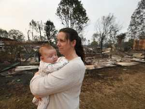 'There's no words... I'm so, so sad': Mum's bushfire terror