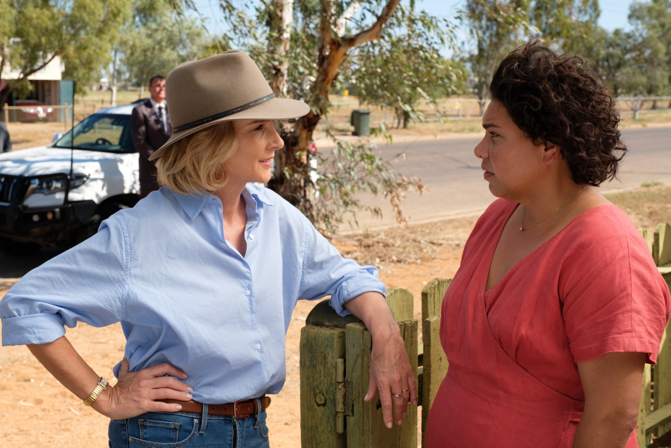Rachel Griffiths and Deborah Mailman share the screen for the first time in the new drama series.