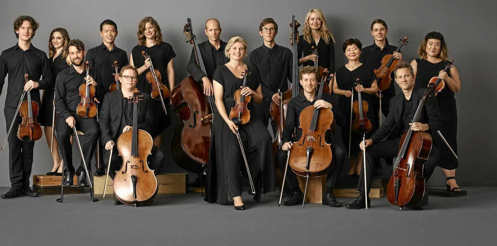 SERENADE FOR STRINGS: Australian Chamber Orchestra Collective featuring ACO Principal Violin Helena Rathbone.