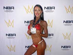 Country mum turned top body builder