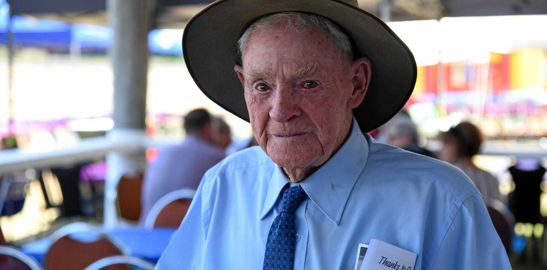 RACING DYNASTY: Eidsvold Race Club life member Jack Murray.