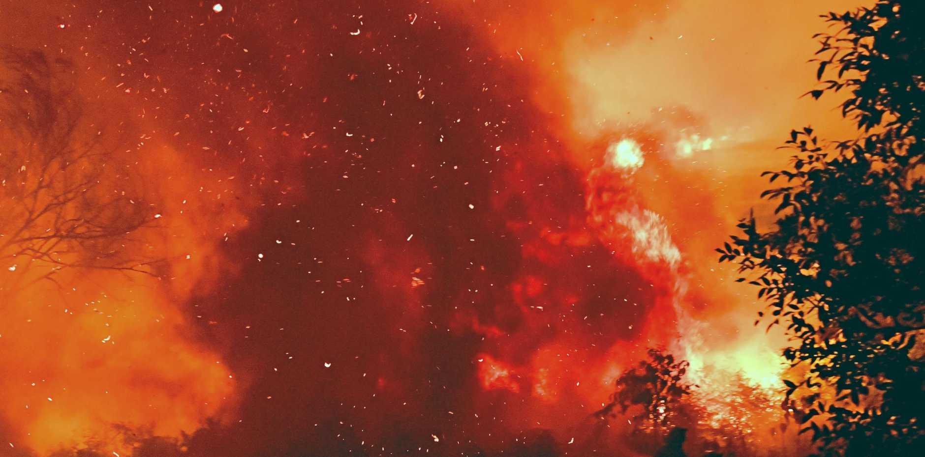 Firefighters have been battling major blazes across Northern NSW.