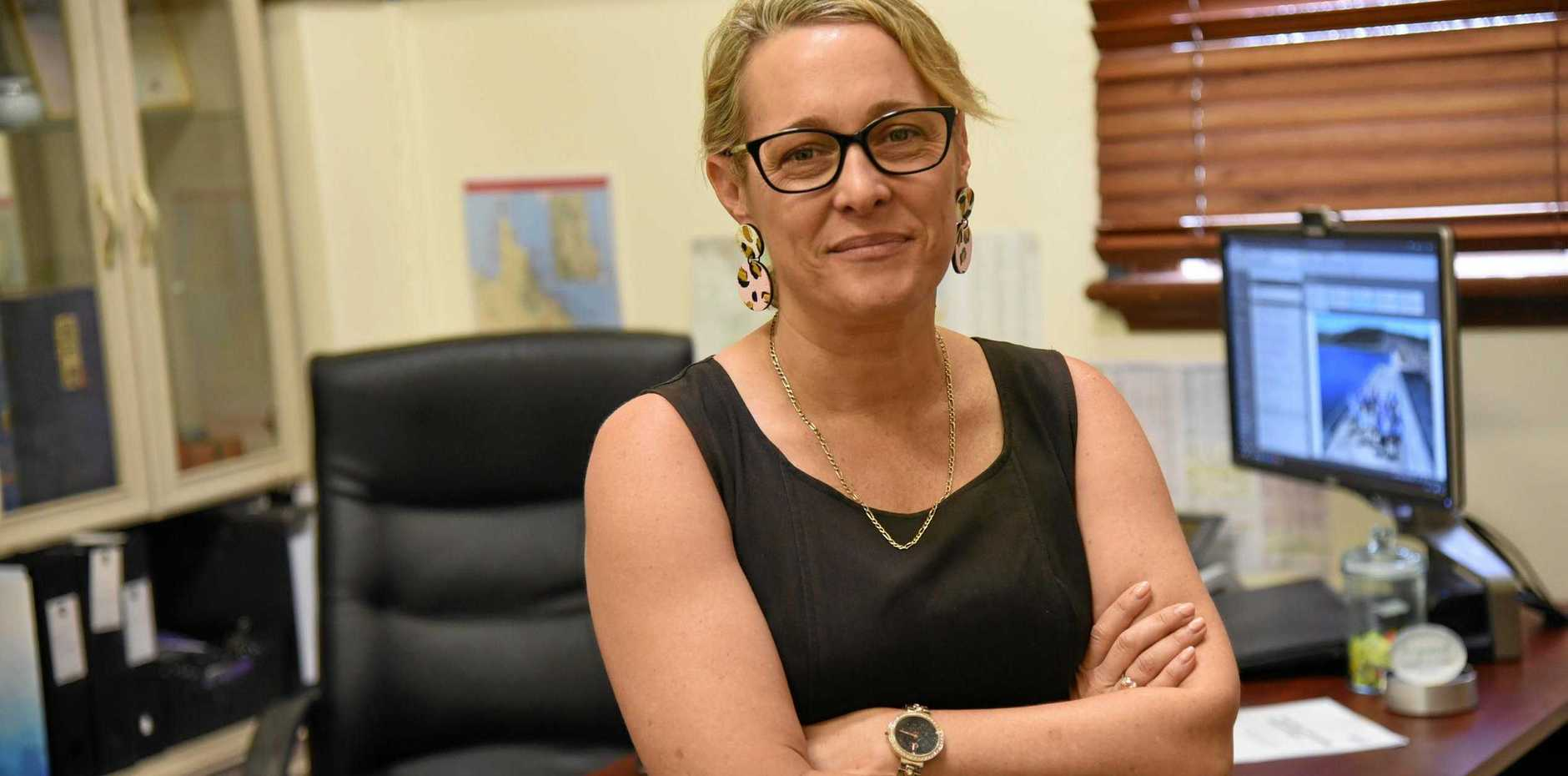 FOREWARNED IS FOREARMED: North Burnett Mayor Rachel Chambers said her council's attention had turned to Paradise Dam's future, including the possibility of the dam wall being lowered further.
