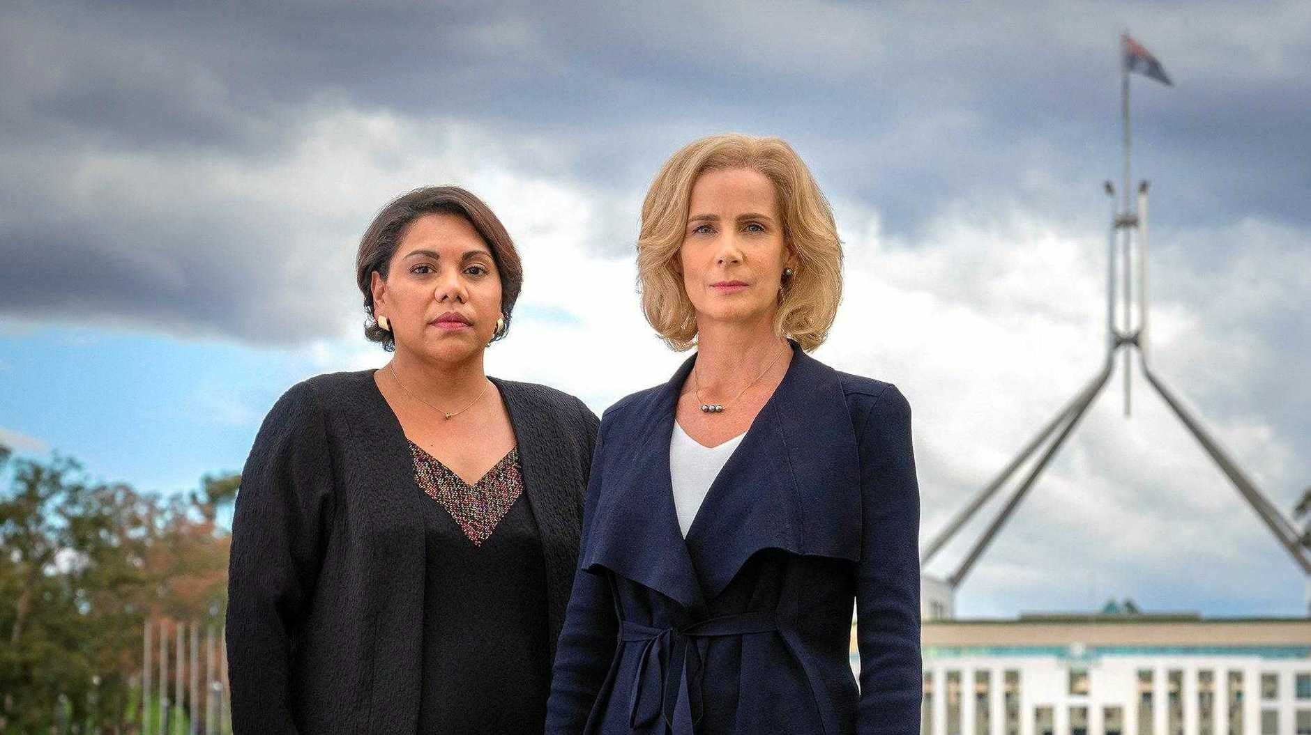 Deborah Mailman and Rachel Griffiths star in the TV series Total Control.