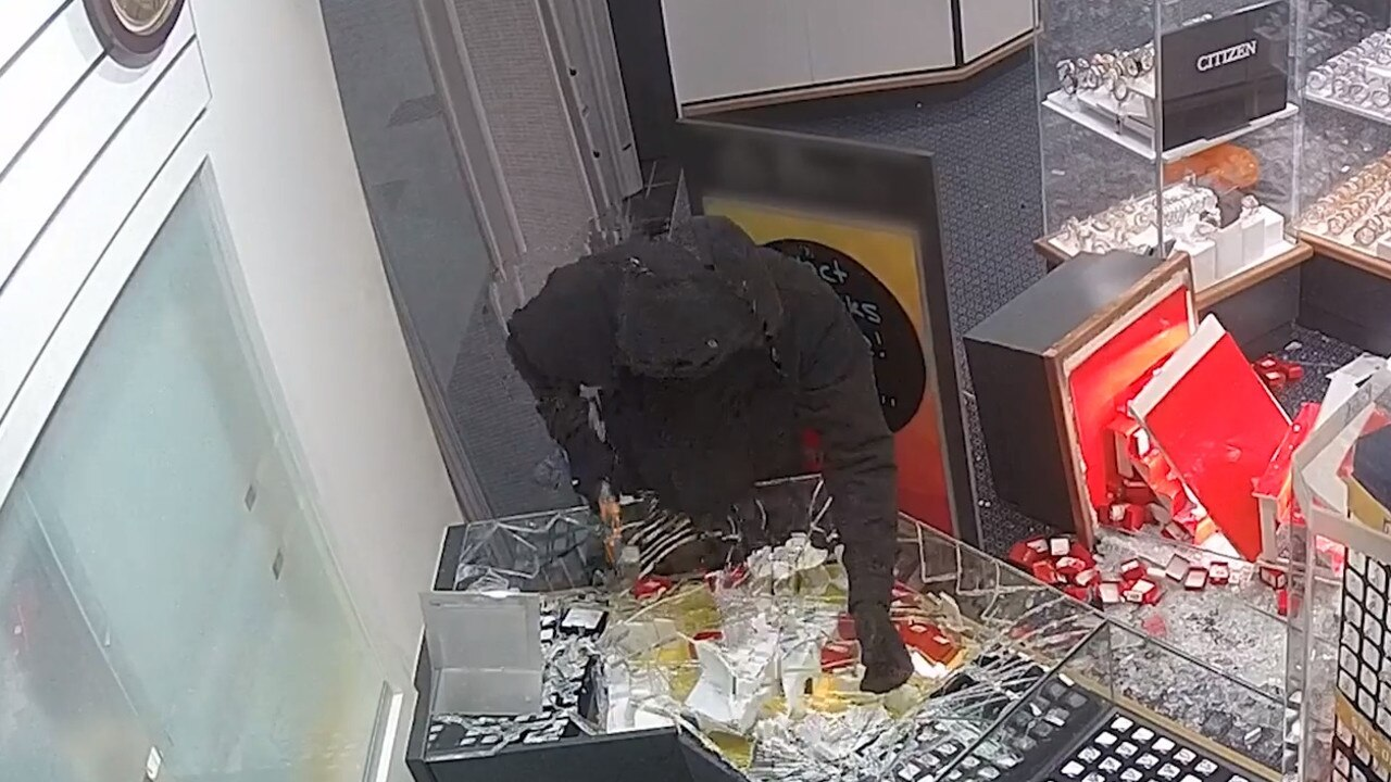 The robbery took place in the early hours of Wednesday morning. Picture: Queensland Police Service