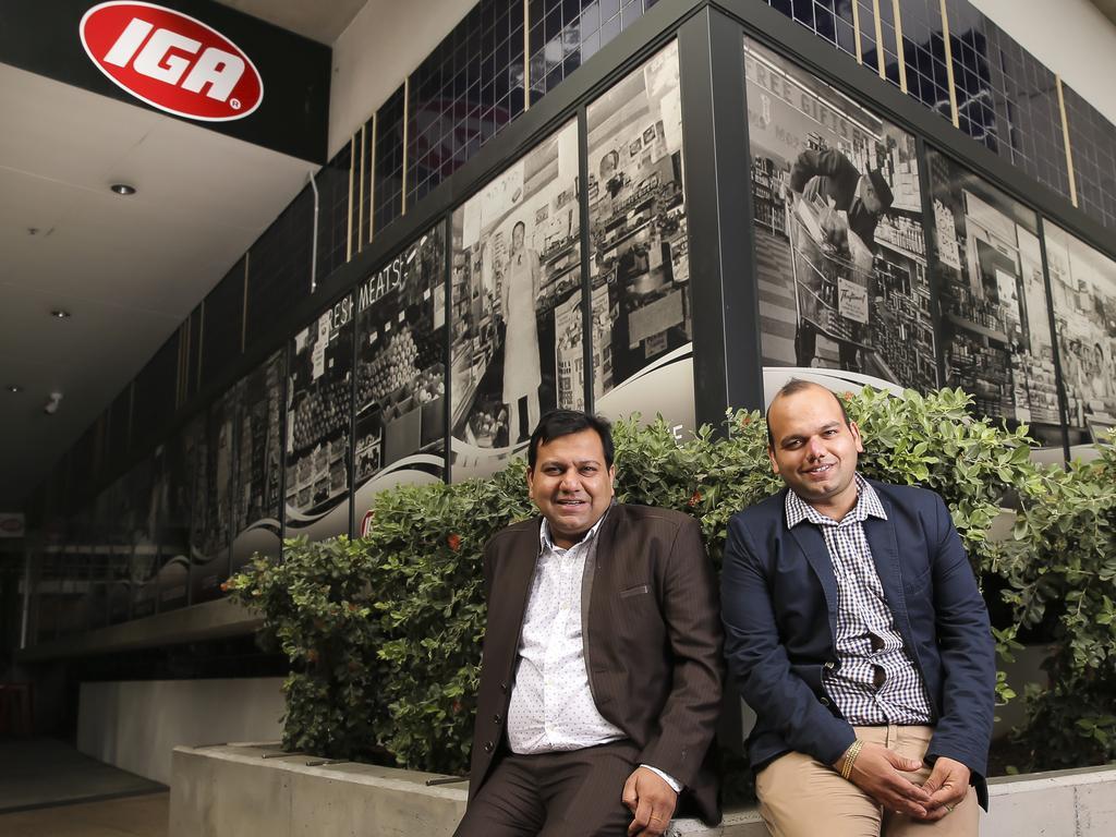 Bansal Group owners Vishal and Gaurav Bansal. Pic: Mark Cranitch.