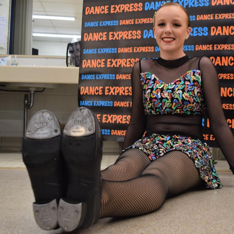 Zoe Anderson, 14, from Dance Express.