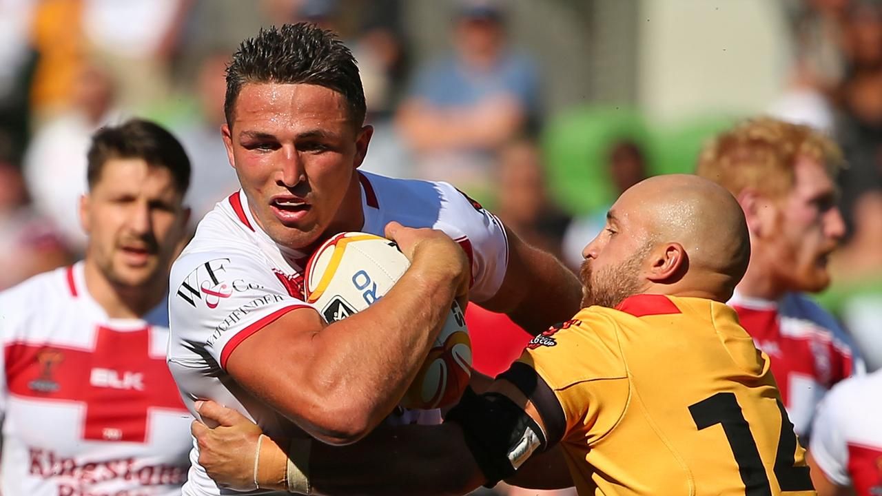 Sam Burgess will miss Great Britain's end of season tour. Picture: Scott Barbour