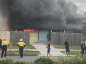 IN PHOTOS: Devastation as fire tears through home